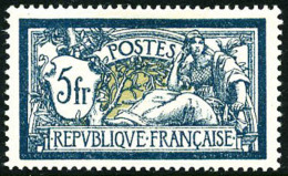 N°123a, 5 F. Bleu Et Olive, Très Bon Centrage, Superbe