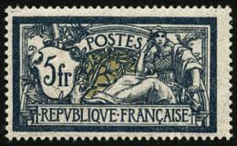 N°123a, 5 F. Bleu Et Olive, Superbe