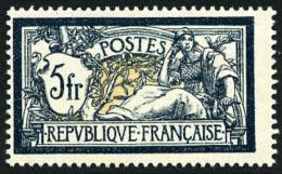 N°123, 5 F. Bleu Et Chamois, TB