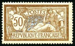 N°120, 50 C. Brun Et Gris, TB