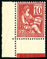 N°112, 10 C. Rose, Très Bon Centrage, Coin De Feuille, Superbe