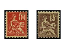 N°112 Et 113, Mouchons, Les 2 Valeurs, TB