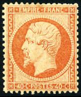 N°23, 40 C. Orange, Infime Rousseur Sinon TB