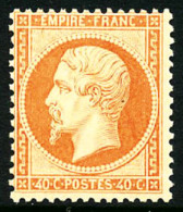 N°23, 40 C. Orange, TB