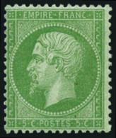 N°20, 5 C. Vert, TB