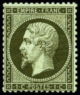 N°19a, 1 C. Bronze, TB