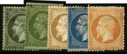 N°19/23, Les 5 Valeurs, B/TB (cote Sans Gomme)