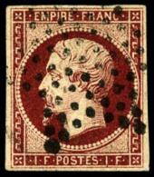 N°18, 1 F. Carmin, Oblitéré Etoile, TB