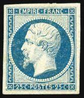 N°15a, 25 C. Bleu Laiteux, Légers Clairs Sinon TB