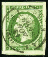 N°12, 5 C. Vert, Oblitéré Càd De Paris, Pièce Exceptionnelle
