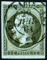 N°11a, 1 C. Bronze, Oblitéré Pcàd De Paris, Superbe