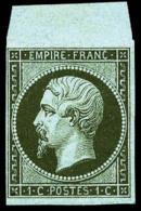 N°11, 1 C. Olive, Haut De Feuille, TB