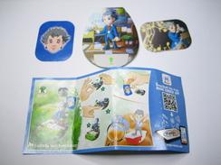 KINDER SD732 TEEN IDOLS Stickers Et Cards Ludwig Van Beethoven + BPZ - Steckfiguren