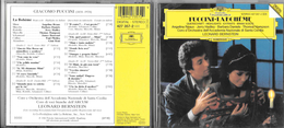 CD  - GIACOMO PUCCINI - LA BOHEME Brani Scelti ( Leonard Bernstein) - Opera