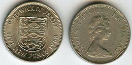 Jersey 5 New Pence 1968 KM 32 - Jersey