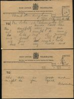 GREAT BRITAIN OHMS FORMOSA STREET LONDON QUEEN ALEXANDRA 1919 - Other Collections