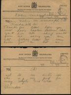 GB TELEGRAPH STATIONERY SANDRINGHAM NORFOLK QUEEN ALEXANDRA 1900/19 OHMS - Historical Documents
