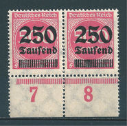 MiNr. 295 ** Plattenfehler F98  (0284)