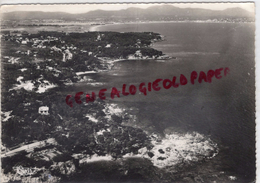 83 - SAINT AYGULF- VUE AERIENNE SUR LES RIVES D'OR-BORDS DE MER-DANS LE FOND FREJUS ET ST RAPHAEL -1957 - Saint-Aygulf