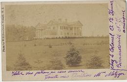 Real Photo Bernardsville Hotel Of Colonel Kauser  Photo W.H. Broadwell Newark  Used 1906 - Etats-Unis