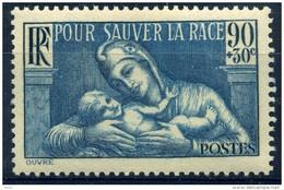 FRANCE 1938 - YVERT  N° 419 Neuf ** COTE 4.5E - France