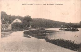 77 SAINT JEAN LES BORDS DE LA MARNE CIRCULEE 1921 - Francia