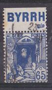 BANDE PUB  OBLITEREE ALGERIE 65 C  BYRRH  GIN - Publicidad