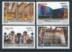 Espagne N° 4435/38** (MNH) 2012 - Architecture Musées