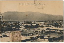 San José De Costa Rica Vista Panoramica P. Used Alajuela To Guantanamo Cuba  Edicion Alsina - Costa Rica