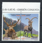 Espagne N° 4440/41** (MNH) 2012 - Faune Espagne - Roumanie