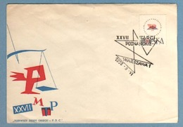 POLOGNE 1958 FDC N°934 (YT) FOIRE INTERNATIONALE DE POZNAN