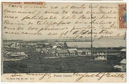 Puerto Limon Edicion Paynter Stamped Limon Puntarenas San José 4 Stamps - Costa Rica