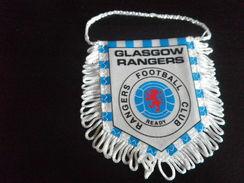 Fanion Football - GLASGOW RANGERS - ECOSSE - Habillement, Souvenirs & Autres