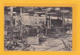 BELGIQUE-HAINAUT-FONTAINE-L'EVÊQUE- INDUSTRIES- QUINCAILLERIES- Vue Pendant La Démolition Des Usines Dercq Le 9 Mai 1918 - Fontaine-l'Evêque