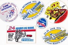 ENSEMBLE AUTO COLLANT MOTO - Autocollants