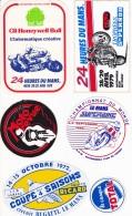 ENSEMBLE AUTO COLLANT MOTO - Adesivi