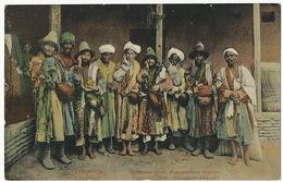 Taschkent Types Indigenes Raconteurs D' Epopées - Ouzbékistan