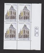FRANCE / 2017 / Y&T N° 5146 ** : Abbatiale Saint Benoît Sur Loire (x 4 En Bloc) - Gomme D'origine Intacte - Neufs