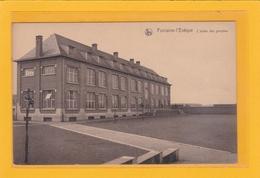 BELGIQUE - HAINAUT- FONTAINE-L'EVÊQUE - EDUCATIONS - ECOLES - L'Ecole Des Garçons - Fontaine-l'Evêque