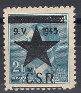 1945 Revolutionary Local Stamp  - Vyskov Pustimer - MNH** - Czechoslovakia