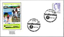 IV MARATON TRANSFRONTERIZO MUGGIA (Italia) - KOPER (Eslovenia) - Marathon. Muggia, Trieste, 2010