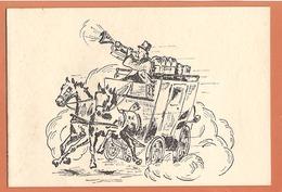 Poste Aux Armées Le Chef De Service Et Le Personnel Du B . P . M . 518 B Souhaitent Un Joyeux Noël Et Meilleurs Voeux - Saisons & Fêtes