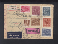 Hungary Express Cover 1943 To Germany Censor