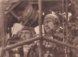 Feldpost WW2: Postcard Pilots Inside A JU88 From Reserve-Infanterie-Bataillon 36 (2. Kompanie) FP 46839C Located In Fran - Militaria