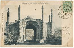 Une Porte D' Entrée De La Ville De Tehéran Exposition Universelle 1900 - Iran