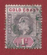 Gran Bretaña - Gold Coast - 1d - 1902 - Costa De Oro (...-1957)