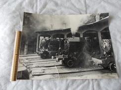 Photo De Train Au 1/20eme Frabriqué Par Des Passionnés De Modèlisme - Trains