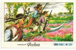 Image Chocolat Poulain Série N° 145 : Le Petit GREGOIRE => Image N° 111 - Bretagne Jean CHOUAN - Poulain