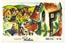Image Chocolat Poulain Série N° 153 : Carillon D'Alsace => Image N° 36 - Musique Chanson VERCHUREN - Poulain