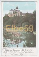 Friedland I. B. (Brandenburg), Gruss Aus, Schloss, Gelaufen 1907 - Friedland